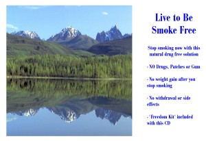 Live to Be Smoke Free CD Icon Cropped